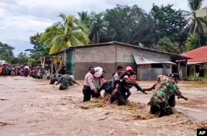 Dampak Siklon Tropis Seroja di Indonesia dan Timor Leste