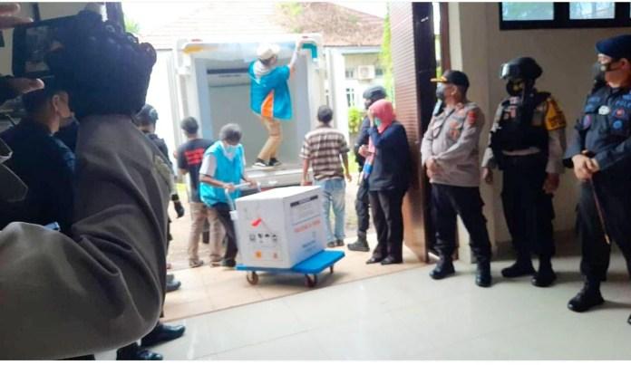 18 Ribu Vaksin Tiba di Sulsel, Plt Gubernur: Insya Allah segera direalisasikan vaksin lanjutan