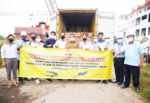 Plt Gub Sulsel Sampaikan Terimakasih atas Bantuan Korban Banjir Bandang NTT