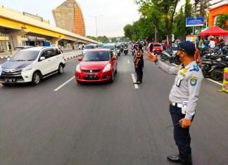 Tim Taktis Dishub Rutin Patroli Atasi Kemacetan selama Ramadhan