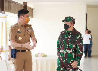Bupati Adnan Apresiasi Upaya Pangdam Lakukan Pemeliharaan Makam Sultan Hasanuddin