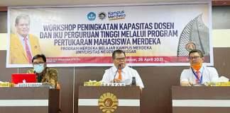 UNM Gelar Workshop Peningkatan Kapasitas Dosen dan IKU