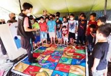 Tim Relawan Trauma Healing Disdik Sulsel Disambut Gembira Masyarakat Korban Gempa Sulbar
