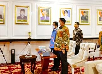 Plt Gubernur Sulsel Ikuti Musrenbangnas 2021 secara virtual