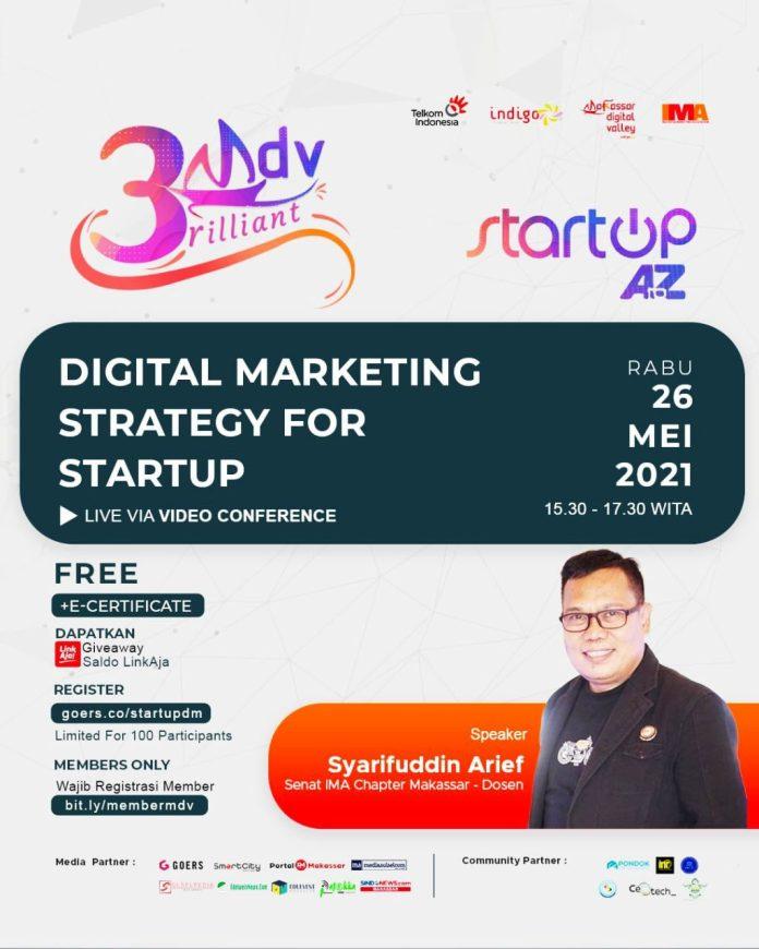 Peringati 3rd Anniversary-nya, MDV Juga Akan Gelar Online Class Digital Marketing