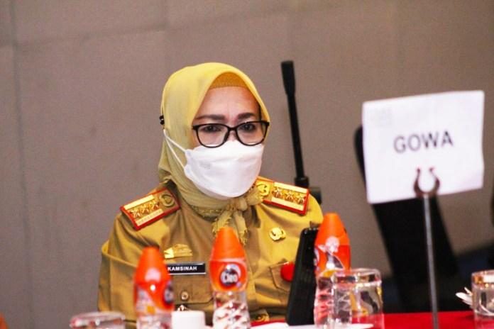 Penjabat Sekretaris Daerah (Sekda) Kabupaten Gowa, Hj. Kamsinah