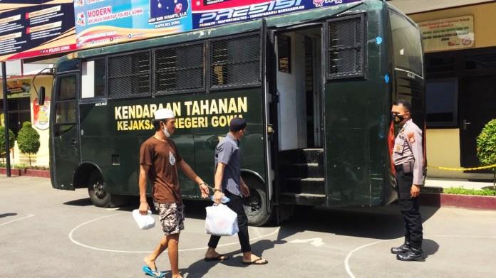 13 Tahanan Titipan Kejaksaan di Rutan Polres Gowa Dipindahkan
