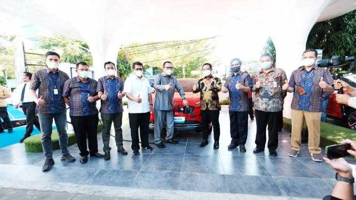 Perluas Ekosistem Kendaraan Listrik, PLN Resmikan SPKLU Pertama di Indonesia Timur