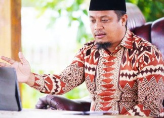 Andi Sudirman Sulaiman, Plt Gubernur Sulawesi Selatan.
