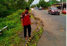 LIPAN Minta Pemerintah Perbaiki Jalan Rusak di Poros Bantimurung sebelum ada Korban