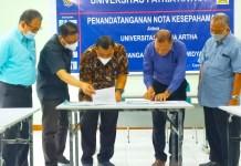 MOU dengan Kampus Widya Buana Semarang, UPA Siap Beri Pelatihan Pengelolaan Keuangan Aparat Desa