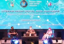 BSSN Gandeng Dinas Kominfo SP Sulsel Gelar Literasi Media Digital