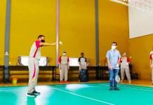 Polres Gowa Gelar Turnamen Bulutangkis Semarakkan Hari Bhayangkara ke-75