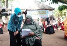 Priska Adnan Tinjau Pelaksanaan Tes Kompetensi Kader Posyandu di Pallangga