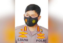 Kabid Humas Polda Sulsel Kombes Pol E.Zulpan.