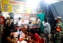 Personil Gabungan Polsek Tinggimoncong Lakukan Patroli PPKM Mikro