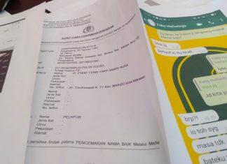 Oknum Pegawai Bank Laporkan Balik NR ke Polda Sulsel