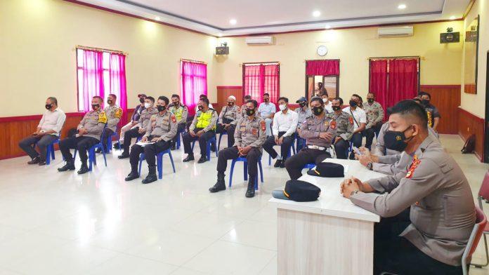 Menuju Polri Presisi, Bagian SDM Polres Gowa Gelar Pelatihan fungsi Teknis Kepolisian