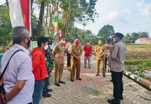 Kapolres Gowa Kunjungi Kampung Rewako di Jenetallasa