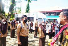 200 Pelajar di SMAN 1 Pinrang telah Divaksin