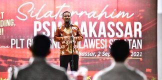 Jelang Laga Perdana Liga Indonesia, PSM Makassar Minta Restu Plt Gubernur Sulsel