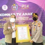 Kapolres Gowa Raih Penghargaan KPAI