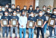 Berhasil Ungkap Kasus Pencurian di Balaikota, Unit Jatanras Polrestabes Diberi Penghargaan oleh Walikota Makassar