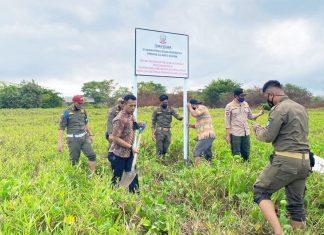 Pemprov Sulsel kembali Amankan Aset negara di daerah Binangan, Tamalate