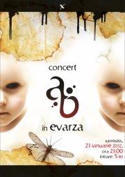 Bucuresti - concert Aeon Blank @ Evarza