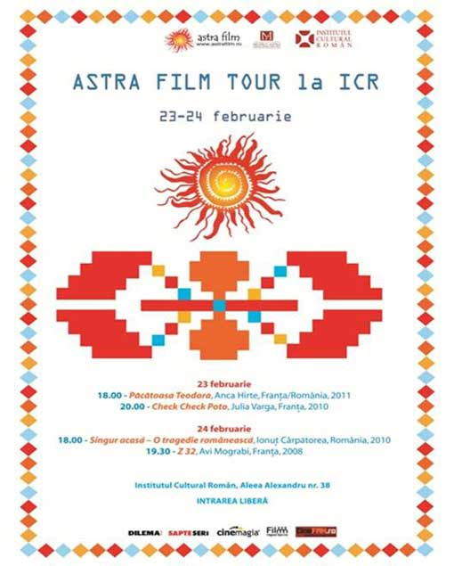 Astra Film Festival on Tour / patru documentare premiate, la ICR