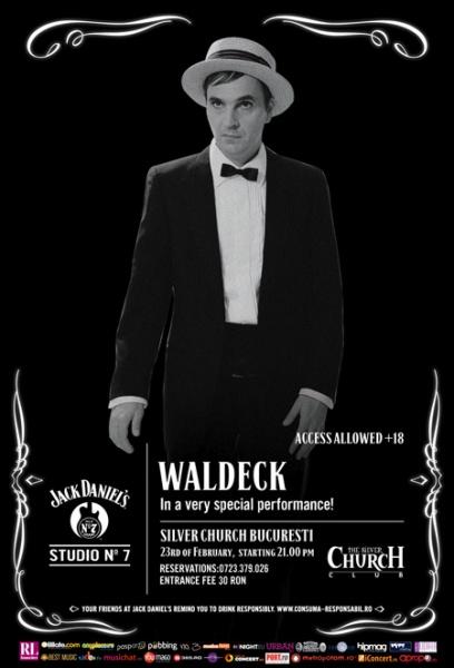 Concert Waldeck @ The Silver Church
