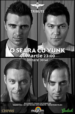 O seara cu VUNK @ Tribute