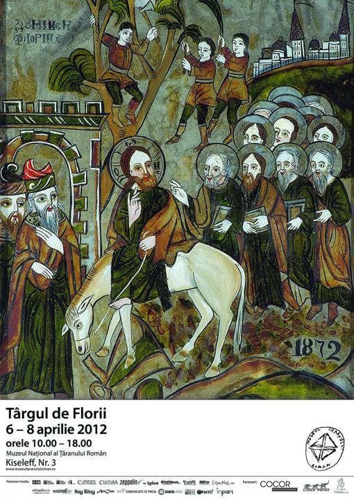 Targul de Florii la Muzeul Taranului