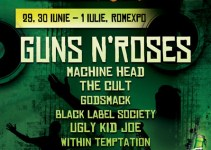 OFICIAL Guns N'Roses, Machine Head, Godsmack, The Cult, Ugly Kid Joe vin la Rock The City 2012