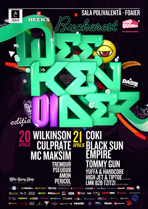 Bucharest Weekender! First edition @ Sala Polivalenta