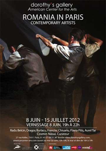 Romania, artisti contemporani la Paris – Origin'Art