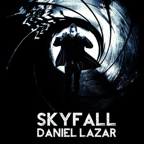 """Daniel Lazar reinterpreteaza povestea """"Skyfall"""", intr-un cover de exceptie dupa coloana sonora a celui mai recent film din seria """"James Bond"""""""
