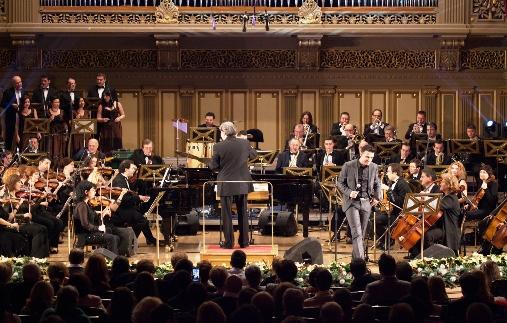 """Piesa """"Ploaie fara nori"""", interpretata de Cornel Ilie si Monica Anghel, a fost vedeta concertului de la Ateneul Roman!"""