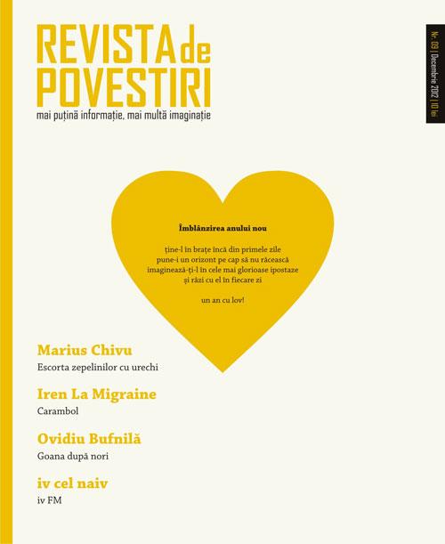 Lansarea ultimului numar din 2012 al Revistei de Povestiri