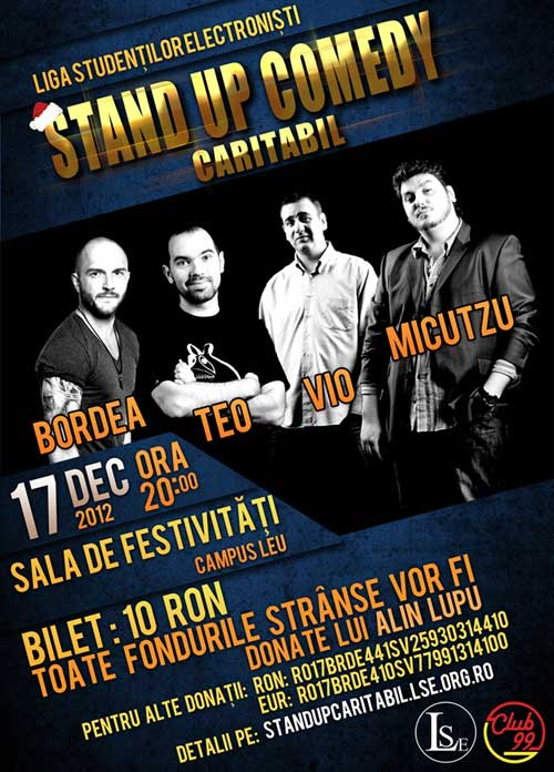 Stand-up Comedy Caritabil