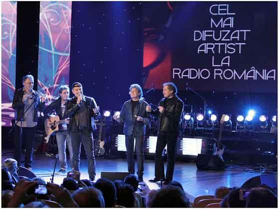 Holograf printre marii castigatori ai premiilor muzicale Radio Romania