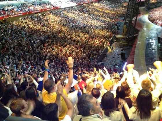 Formaţia Zdob si Zdub a cantat miercurea trecuta la festivitatea de închidere a Universiadei de vară de la Kazan, în Rusia. Universiada, aflata la cea de-a 27-a ediţie, este o importanta competitie sportiva internationala, la care a participat si o delegatie a Romaniei.