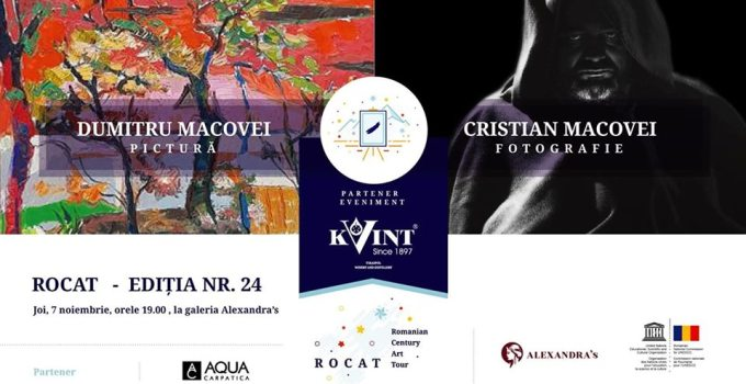 Dumitru Macovei si Cristian Macovei @ Galeria Alexandra's