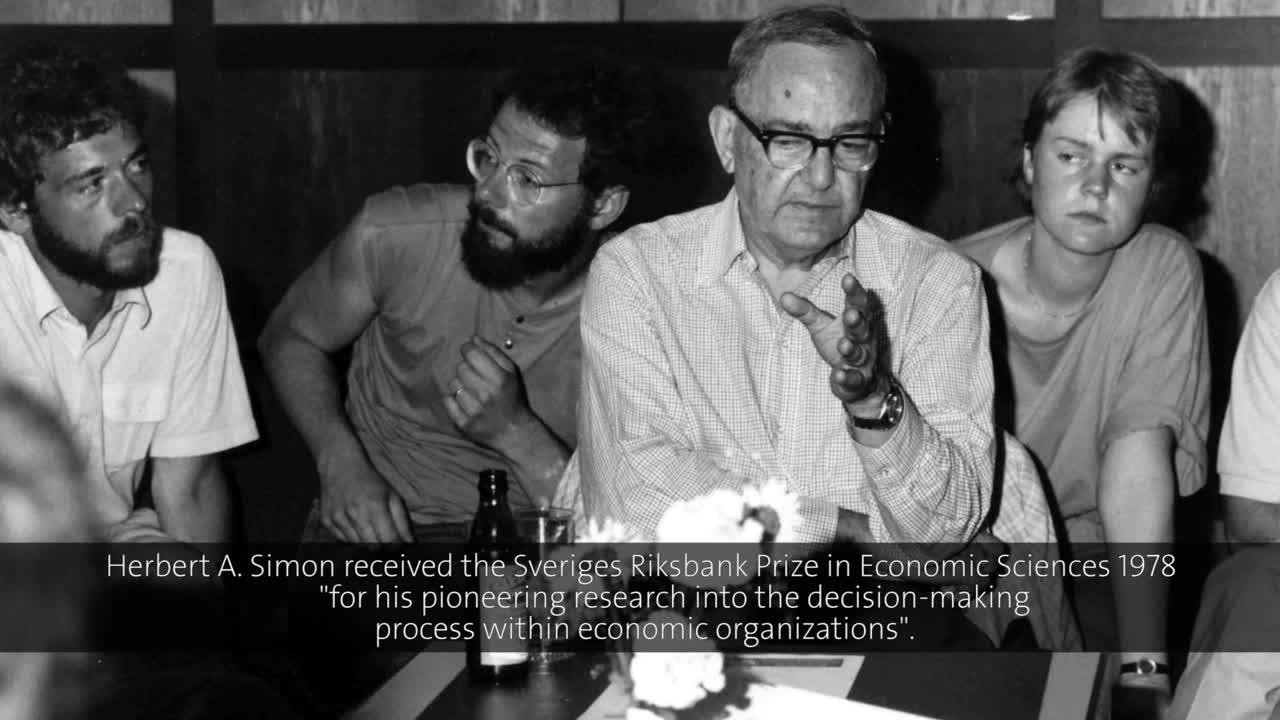 Image result for economist Herbert Simon