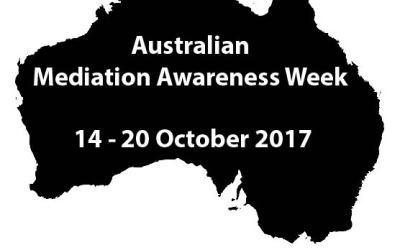 Australian Mediation Awareness Week 2017