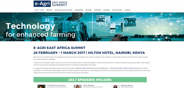 e-Agri - East Africa Summit