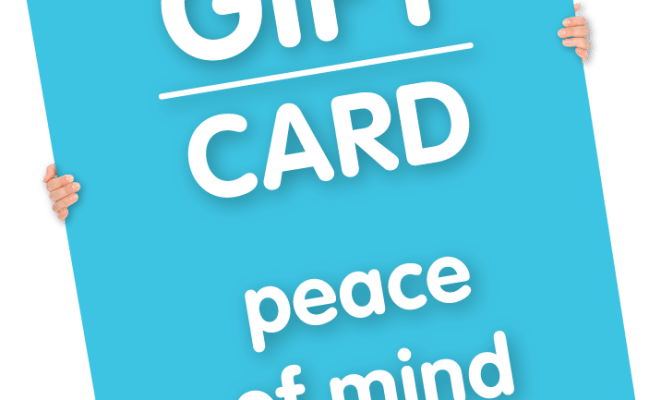 Gift Card Peace Of Mind 礼品卡 Mediband Cn