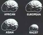 Schématisation parodique du racisme