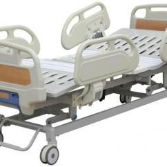 Collapsible Wooden Chair Indoor Plans Remote Handset Control Electric Hospital Bed Five Function For Medical Use