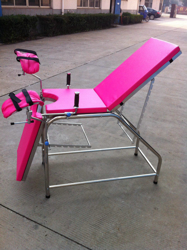 caps for chair legs target metal chairs stainless steel gynecological medical exam tables,pink portable examination